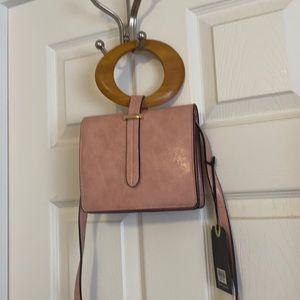 Moda Luxe blush hand or crossbody bag.